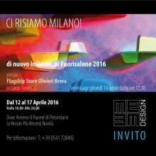Invitation Fuorisalone 2016
