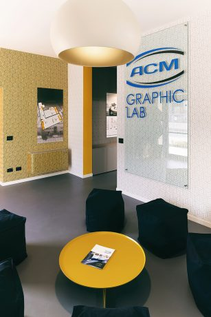 Round ø 80 cm Progetto ACM Grafic LAB 4