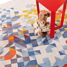 Velvet tufted carpet Sapore di mare 3
