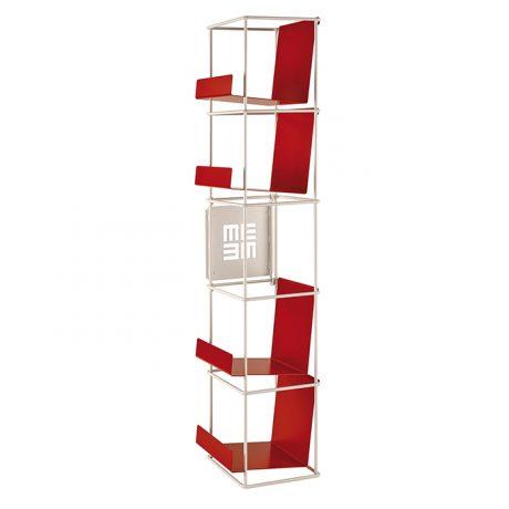 Modular wall bookcase Libro Verticale by Memedesign 6