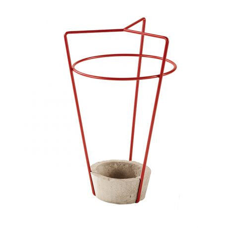 Umbrella stand AMBROGIO with concrete base by MEMEDESIGN-3