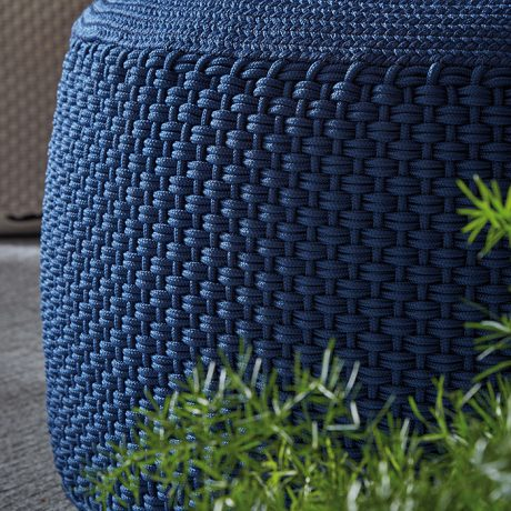 BERENICE round pouf for outdoor use MEMEDESIGN 5
