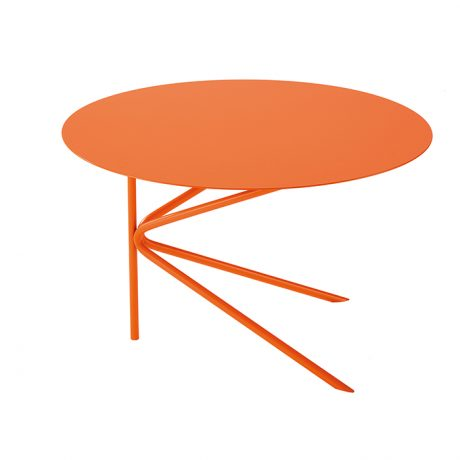Round coffee tables for outdoor and indoor use TWIN A by MEMEDESIGN