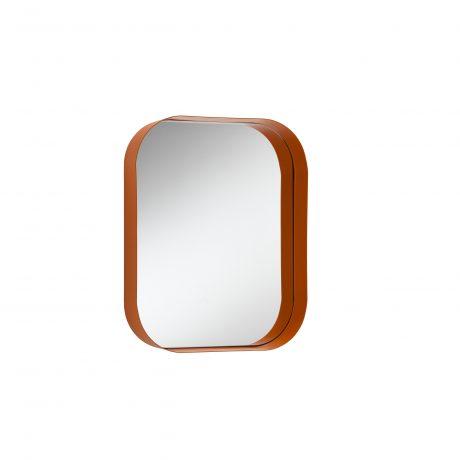 Wall mirror with shelf Diletta by Memedesign