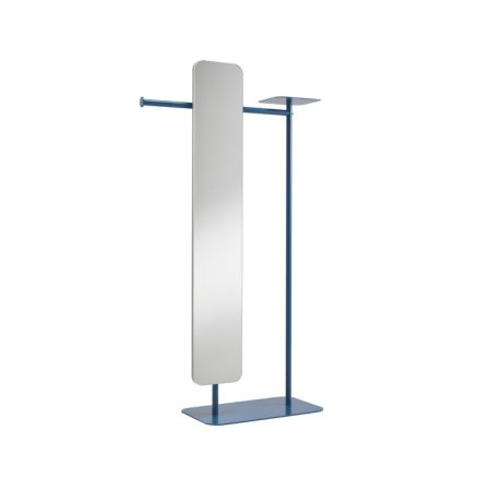 Valet stand with big mirror