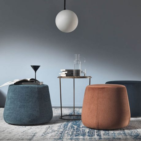 Collection of pouf indoor Eirene