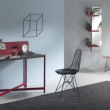Red passion: the writing desk Accademy by Memedesign