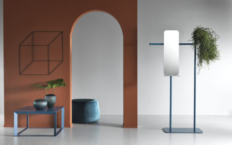 Multifunctional mirrors: BABELE SMALL with pocket emptier by Memedesign